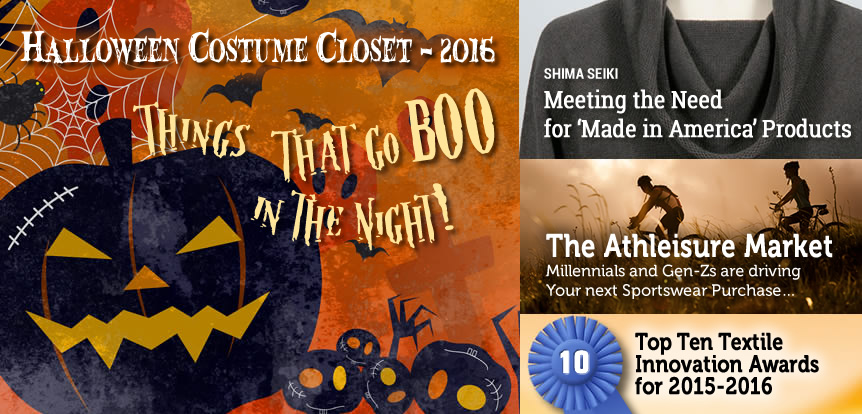 Halloween Costume Closet 2016: Things That Go BOO in The Night