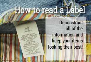 How to read a Clothing Label