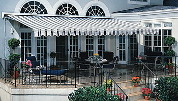 Midway Retractable Patio Awning - Retractable Awnings