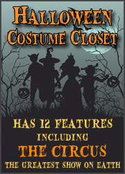 Halloween Costume Closet - THE CIRCUS